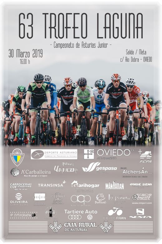 Cartel 63 Trofeo Laguna – Campeonato Asturias juvenil